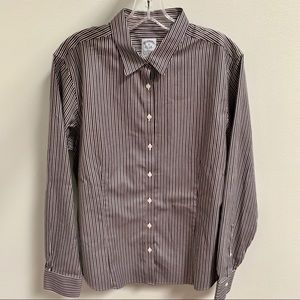 Brooks Brothers Non-Iron Fitted Striped Shirt